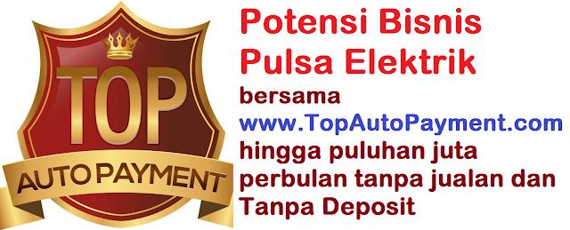 Potensi Bonus Bisnis Pulsa Elektrik Bersama TOP Auto Payment