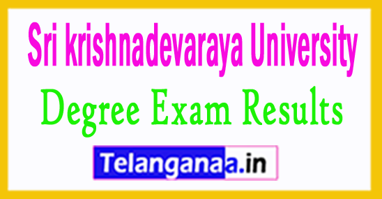 SKU Result 2017  SK University Degree Result 2018