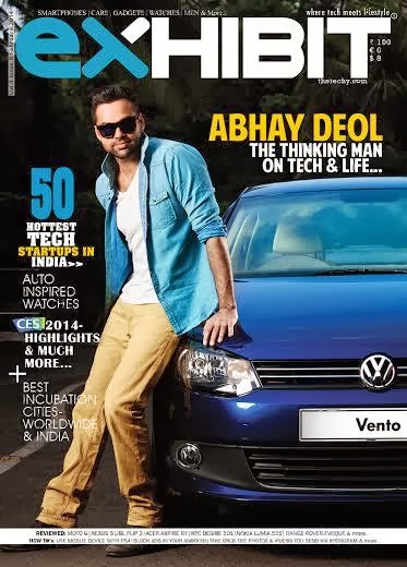 Abhay Deol covers Exhibit