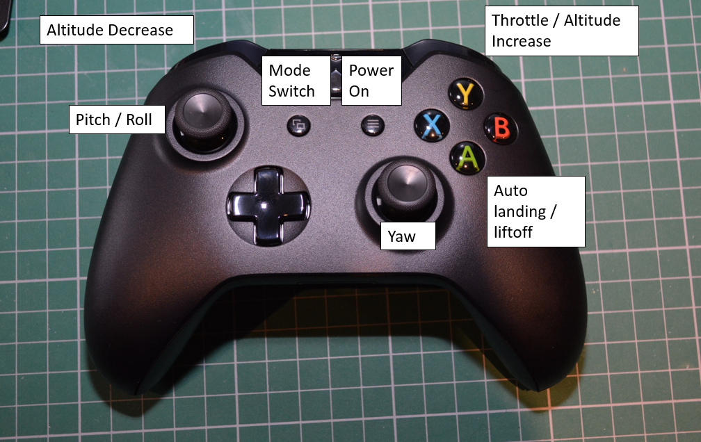 SYG QuadCopter and other projects: Using XBox One Controller