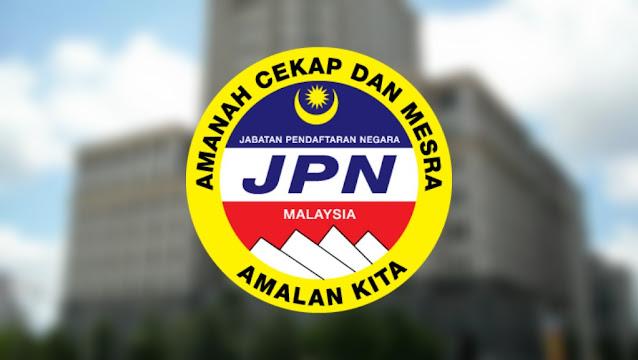 Permohonan Jawatan Kosong Jabatan Pendaftaran Negara 2021 (JPN)