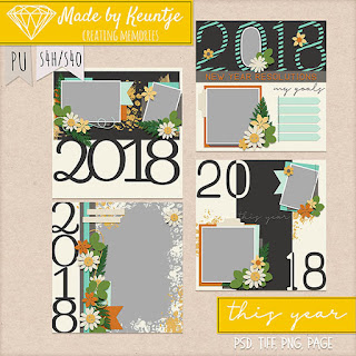 New Scrapbooking Templates and So Many Freebies