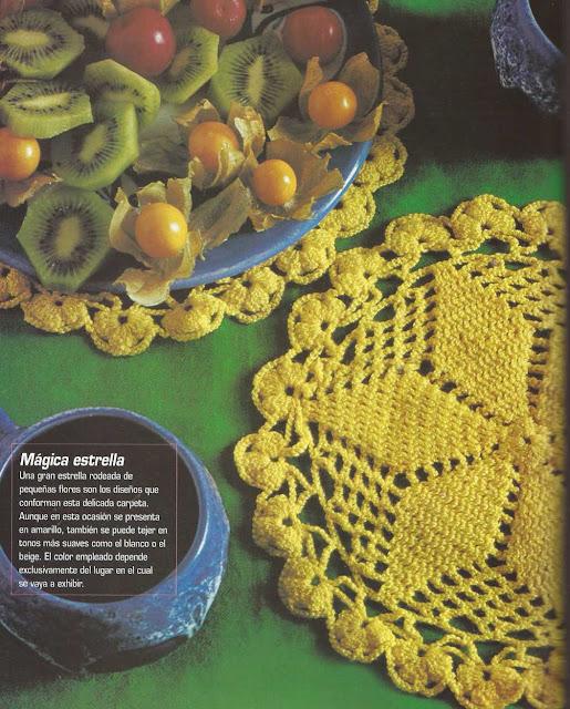 Patrón #1197: Carpeta a Crochet