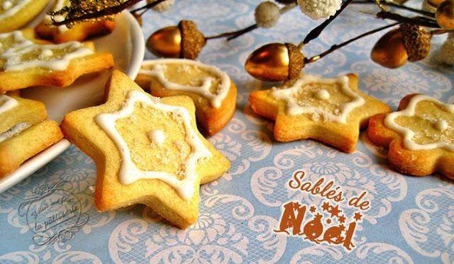 biscuits de noel avec glace royale