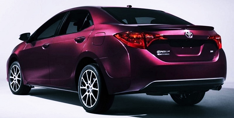 2018 Toyota Corolla Verso Spec Le
