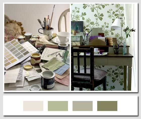 Colori alle pareti shabby chic interiors - Colori alle pareti di casa ...