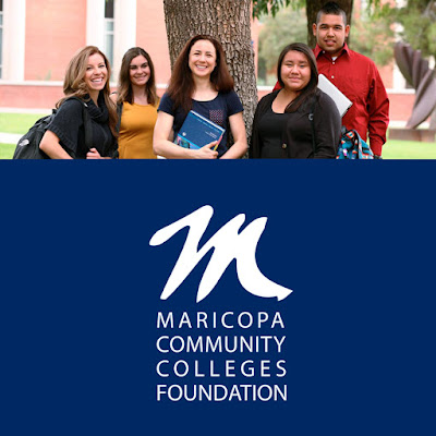 Image of MCCDF logo and photo of group of scholars.