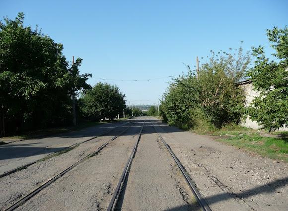 Константиновка. Трамвайная линия протяжённостью 50 км