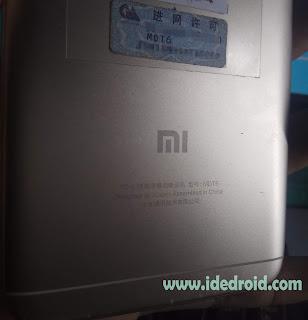 Cara Bypass Mi Account Redmi Note 5A Ugglite MDT6 / MDE6