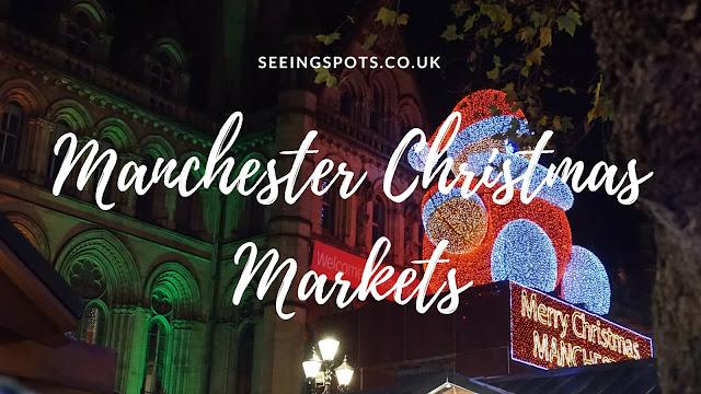 Manchester Christmas Markets Santa 2016