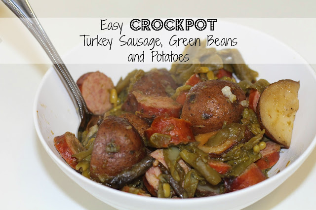 easy crockpot sausage staying salty blog