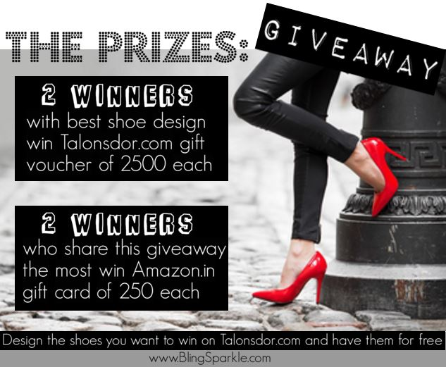 Competition giveaway Talonsdor.com shoes boots design DIY
