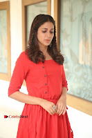 Actress Lavanya Tripathi Latest Pos in Red Dress at Radha Movie Success Meet .COM 0080.JPG
