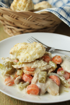slow-cooker creamy chicken and biscuits, low-fructose, gluten-free