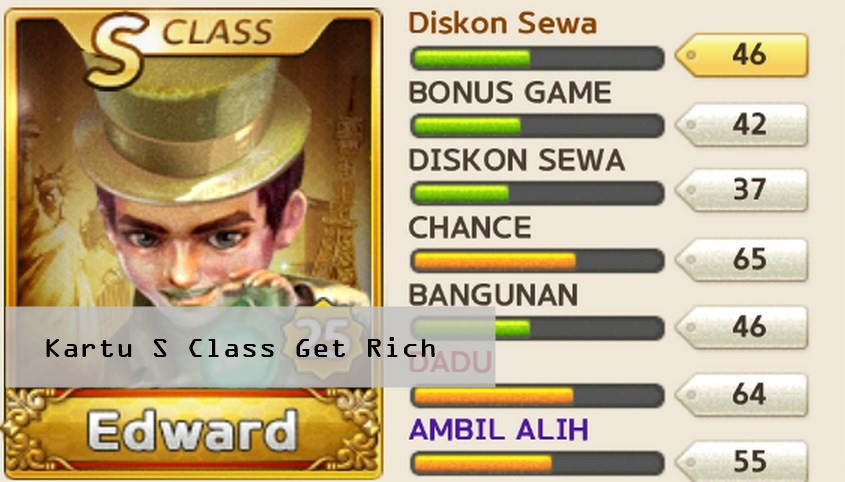 Rahasia Cara Mendapat Kartu S Class Line Get Rich