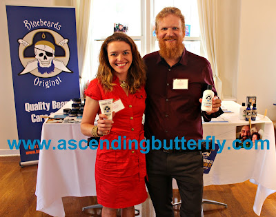 Bluebeards Original Beard Wash presented by husband and wife team of Paul and Moira Kaniewski at BeautyPress Spotlight Day September 2015