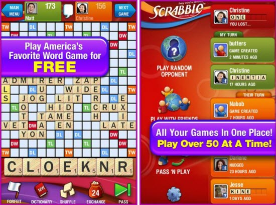 Scrabble App for Android