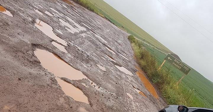 Resultado de imagem para foto RS 377, trecho entre Santa Tecla e Capão do Cipó