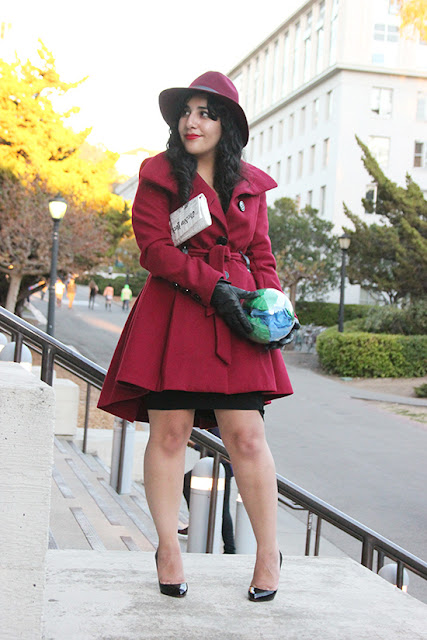 Where in the World is Carmen Sandiego Halloween Costume DIY Cosplay