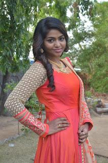 Shalu Shamu Stills in Red Dress at Kekran Mekran Audio Launch