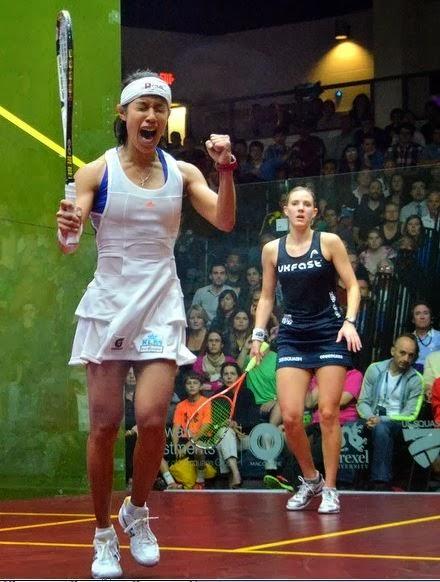 U S  Open Squash Nicol retain the championship   Harimau