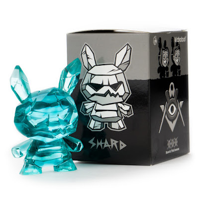 "Shard Ice Monster Dunny 3"" Resin Figure by Scott Tolleson x Kidrobot"