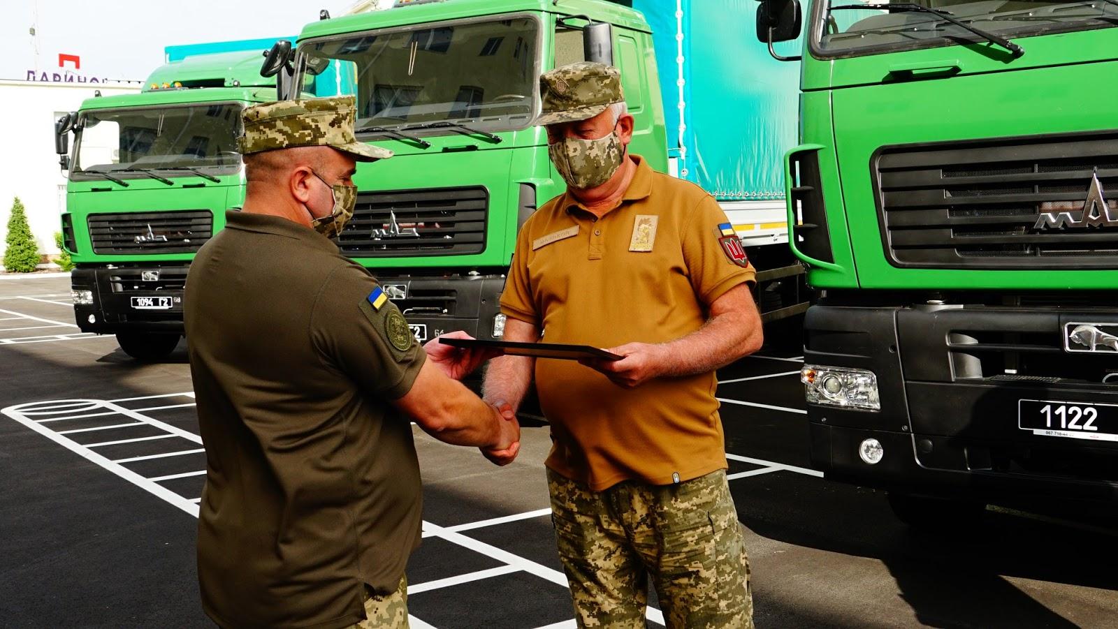 Держспецтрансслужба отримала партію вантажівок МАЗ-534026