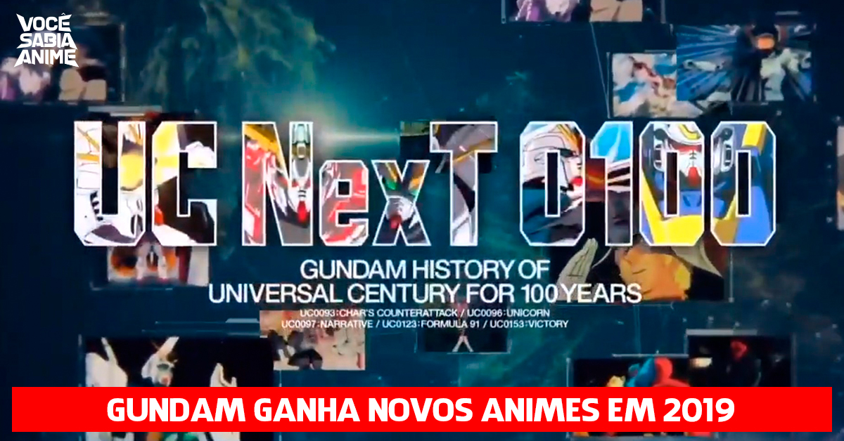 Gundam ganha novos animes em 2019