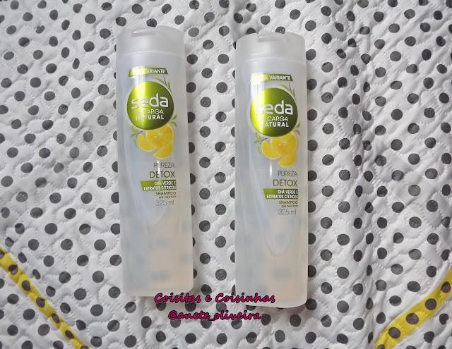 Shampoo Seda Recarga Natural