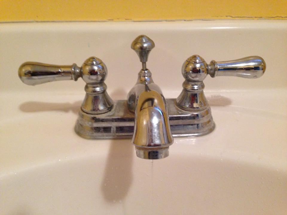 Help  My Bathroom Sink is Leaking  One Brown Mom