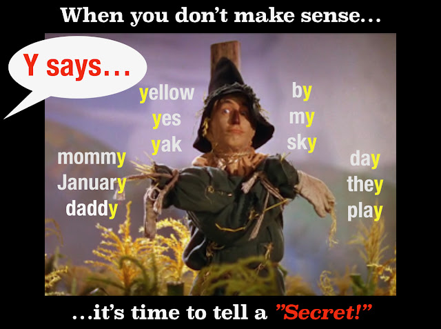 The Secret Stories Sneaky Y® Phonics Secret!