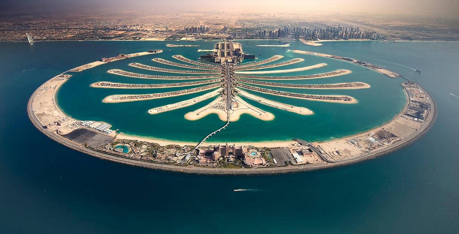 Đảo cọ Palm Jumeirah - Dubai