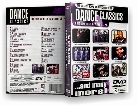CAPA DVD – Dance Classic Original Hits & video clipes – ISO