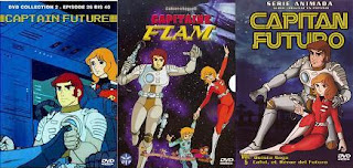 Captain Future DVD-k