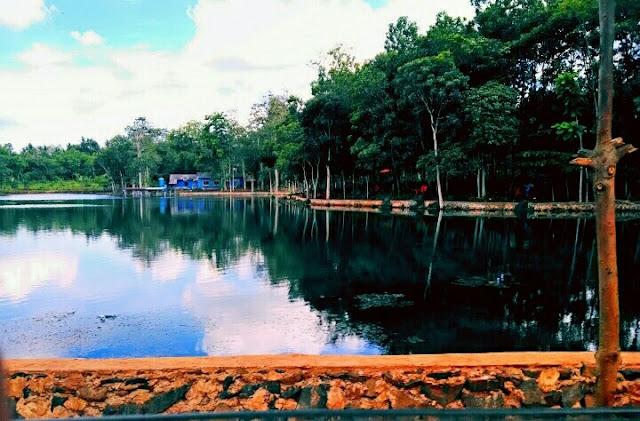 Wisata danau kemuning lampung