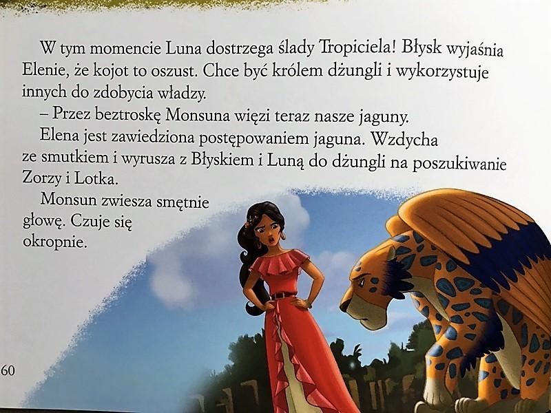 """""""Elena z Avaloru"""" wydawnictwo Egmont."""