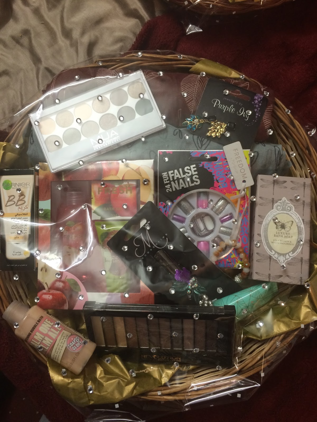 Gift Basket Making Materials : Happy muslim mama how to create gift baskets for special