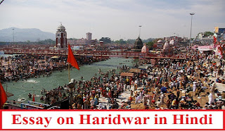 Essay on Haridwar in Hindi