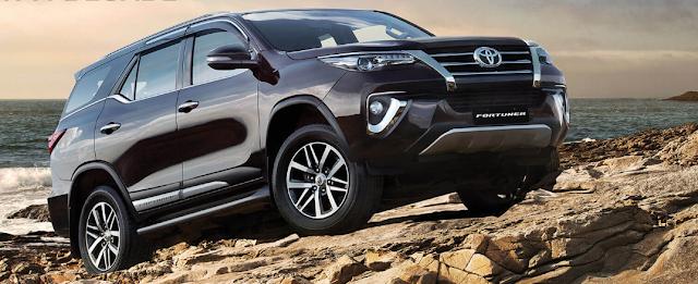 Toyota Fortuner Price in India 2019