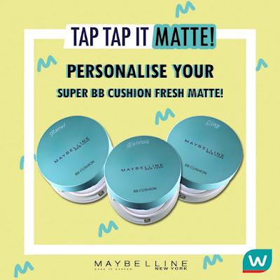 Watsons Malaysia Maybelline Super BB Cushion Fresh Matte