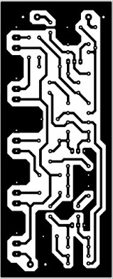 PCB Layout Equlizer 5 Channel