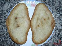Croissant abierto