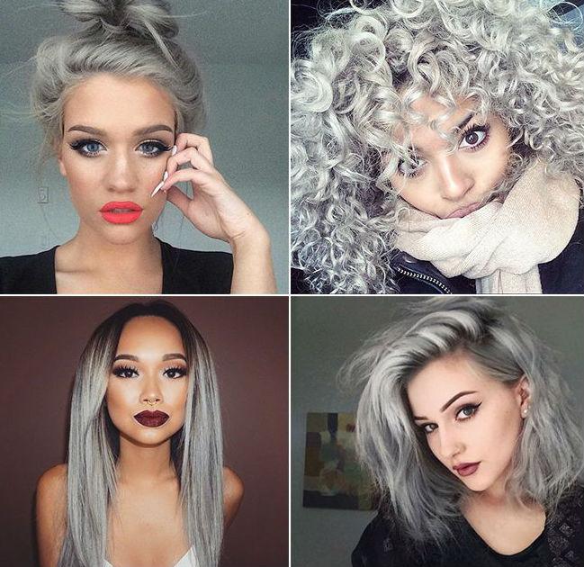 Resultado de imagem para cabelos platinados tumblr cacheados