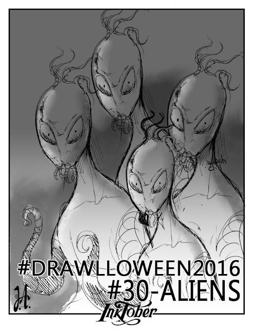 aliens-drawlloween-inktober-lucyowlart