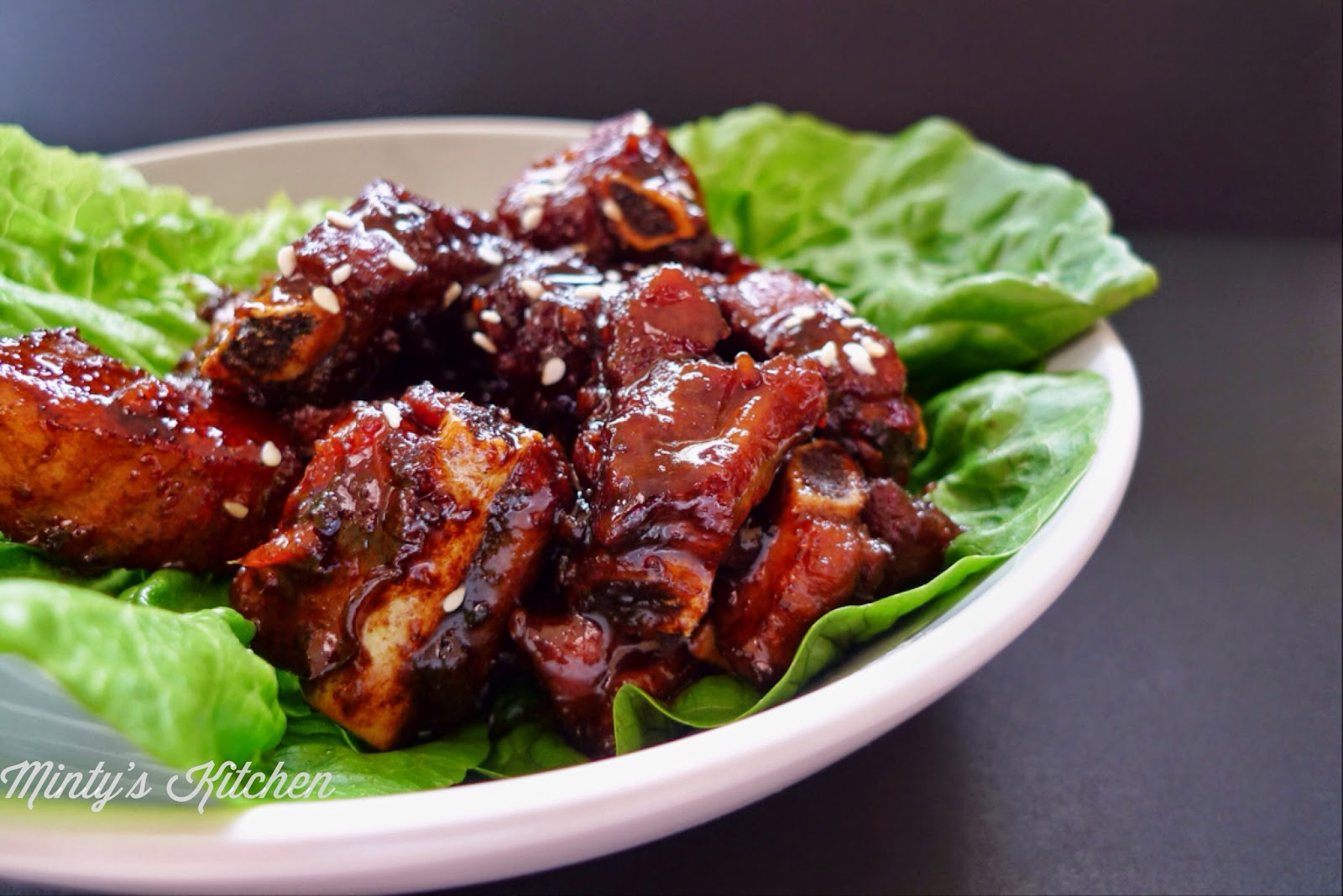 Braised Sweet & Sour Chinkiang Vinegar Spare Ribs (浙江糖醋排骨)