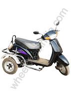 Side Wheel Attachment Activa Black