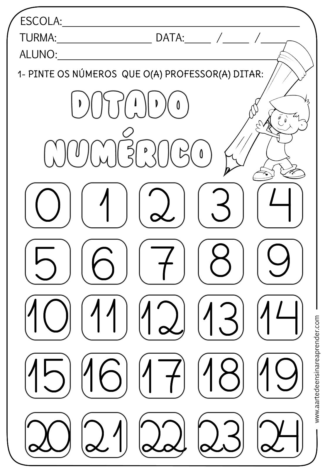 Ditado Numerico