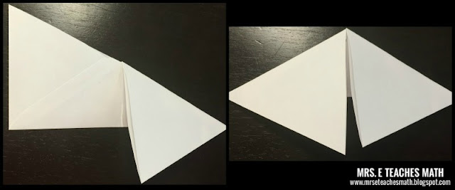 How to Create a 3D Pyramid Out of an Envelope - great for helping Geometry students visualize