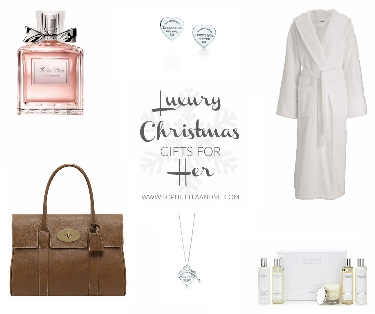 Christmas Gift Guide 2015: Luxury Gifts For Her | Sophie Ella and Me