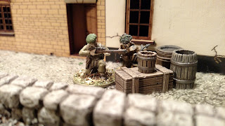 Painted Warlord Games Bolt Action British Commandos Sniper Team